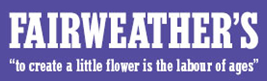Fairweathers logo.